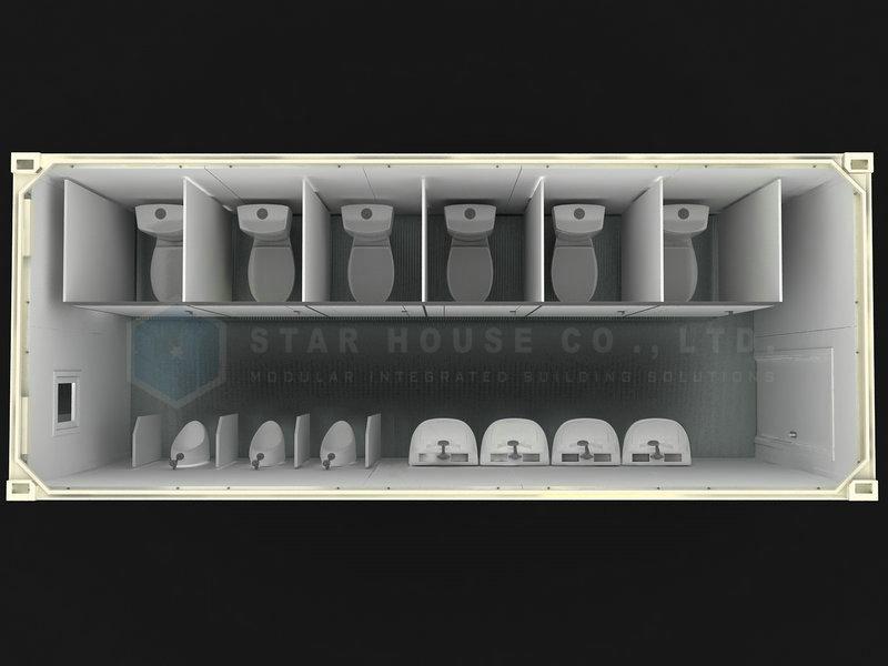 وحدة مراحيض الذكور
