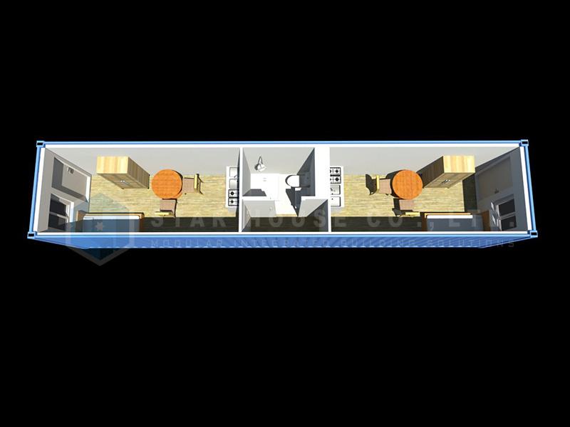 8 x 40ft وحدة البكالوريوس MC-4002